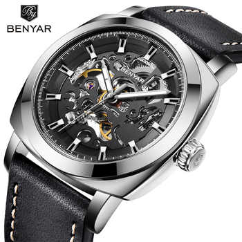 Relogio Masculino BENYAR Mens Watches Top Brand Luxury Automatic Mechanical Men Business Waterproof Sport Watch Reloj Hombre - DISCOUNT ITEM  90% OFF All Category