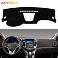 APPDEE крышка приборной панели автомобиля силиконовый нескользящий для Chevrolet Cruze 2009 2010 2011 2012 2013 2014 Dash Коврик Анти-УФ ковер DashMat