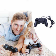 1pc Universal Wired USB Game Controller Dual Vibration Gamepad with USB Cable for PC Gaming