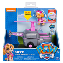 Original Nickelodeon Paw Patrol Skye Transforming Helicopter Spin Master Rescue Vehicle Toy Set Anime Action Figure Toy Kid Gift spin master nickelodeon paw patrol 16721 водные лыжи зумы
