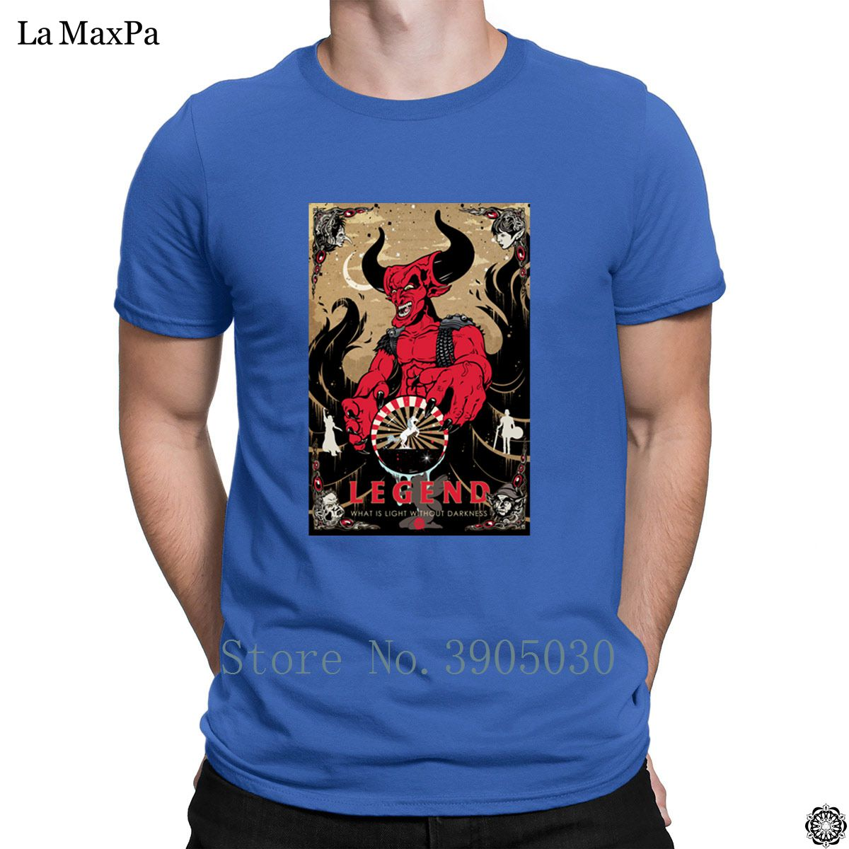 Custom Websites Fashion Mens T Shirt Darkness T Shirt Summer Style