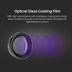 Image 2 - ULANZI OA 5 Macro Lens OA 6 Fisheye Lens voor DJI Osmo Action Optische Glazen Lens Alluminum Lichtmetalen Lens Osmo Action Accessoires
