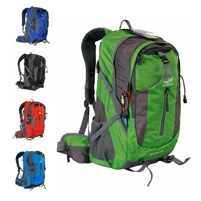 40L Large Professional Bicycle Bag Pack Outdoor Accessories Riding Cycling Backpack Female Male Hiking Mountain Bike