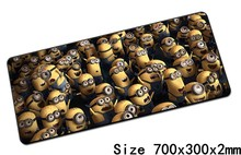 Minions mouse pads 70x30cm pad to mouse notbook computer mousepad Custom gaming mousepad gamer to keyboard laptop mouse mat
