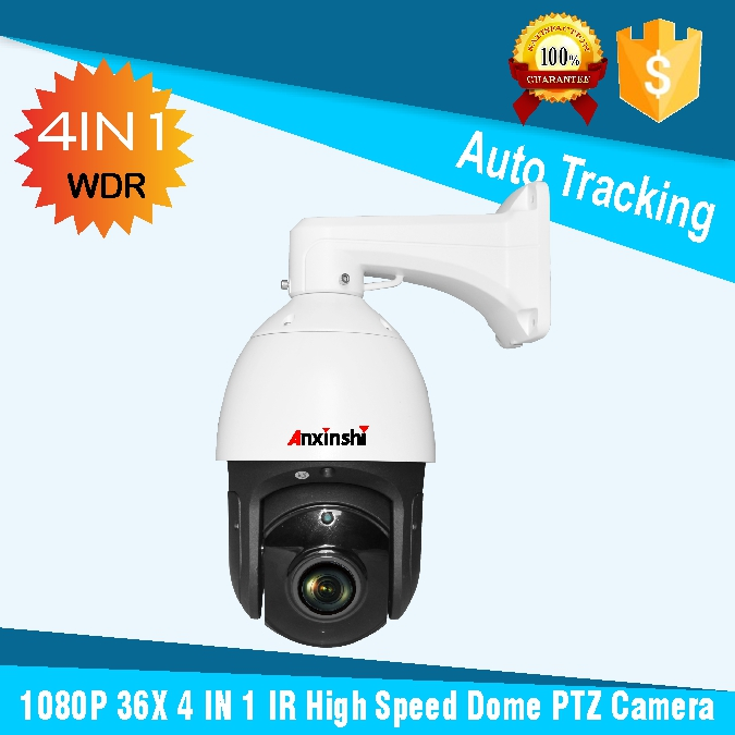 HD 1080P 36X zoom starlight IR 150M 4 in 1 Outdoor Auto Tracking High Speed Dome Camera DWDR CMOS Sensor Sony291 PTZ Camera фигурка aliens xenomorph warrior arcade appearance 17 см