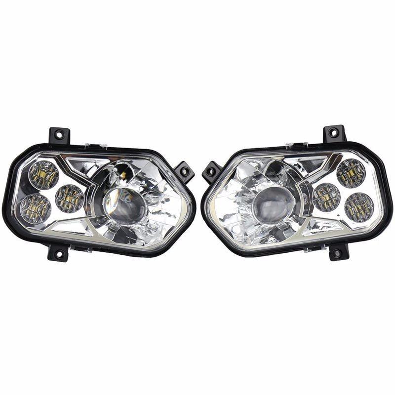 2pcs ATV UTV Light Accessories Projector Headlight Polaris ...