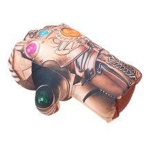 Хэллоуин косплей Бесконечность гаунтлет Мстители 3 Бесконечность война перчатки Таноса Косплей Хэллоуин реквизит костюм плюшевая игрушка