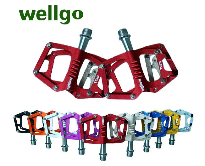 WELLGO  R277pedal Bearing pedal Mountain bike pedal BMX Pedal CNC Aluminum PEDAL шапка r mountain r mountain rm002cwlll53