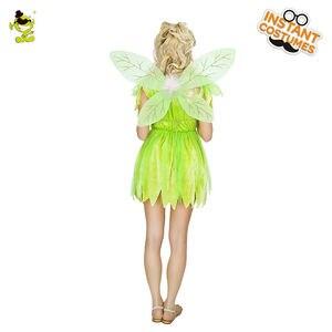 Image 3 - Novo adorável trajes de fadas adulto feminino carnaval festa elf role play vestido de verão trajes de princesa