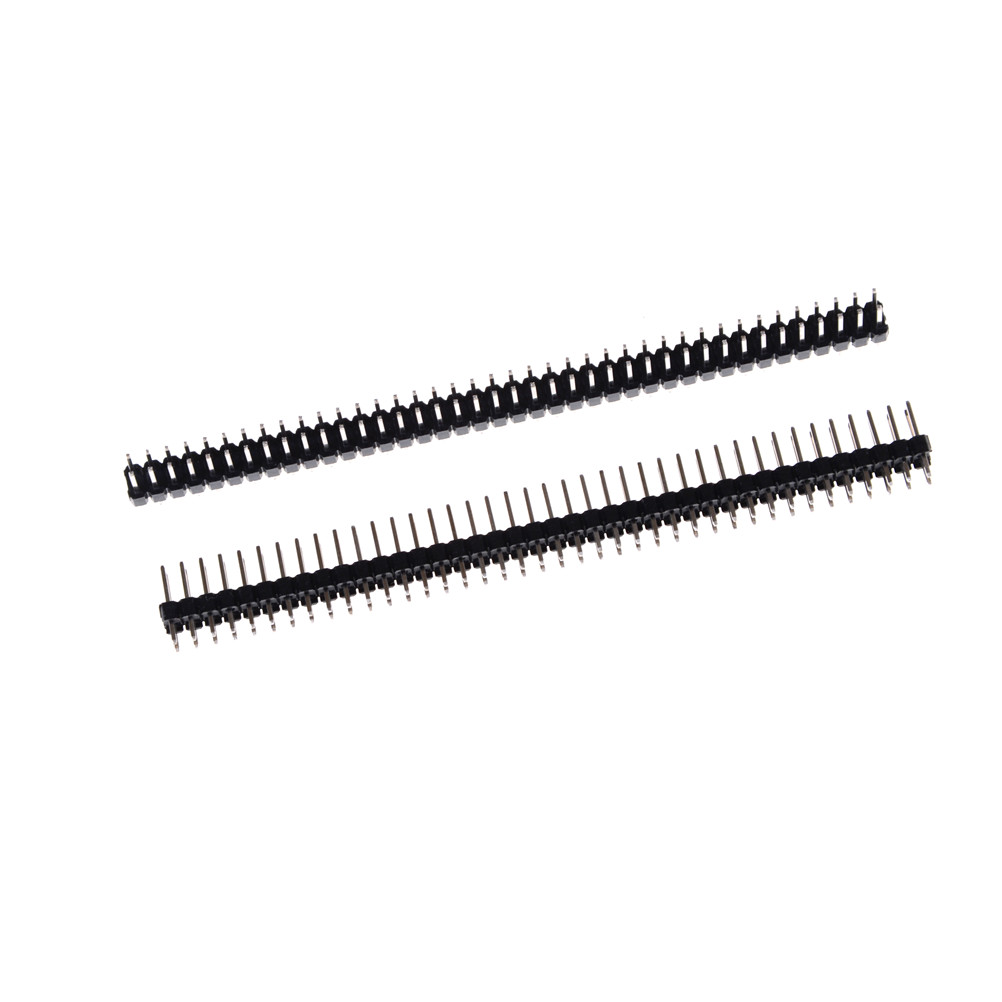 10pcs/lot 40 Pin Single Row Male 2.54mm Breakable Pin