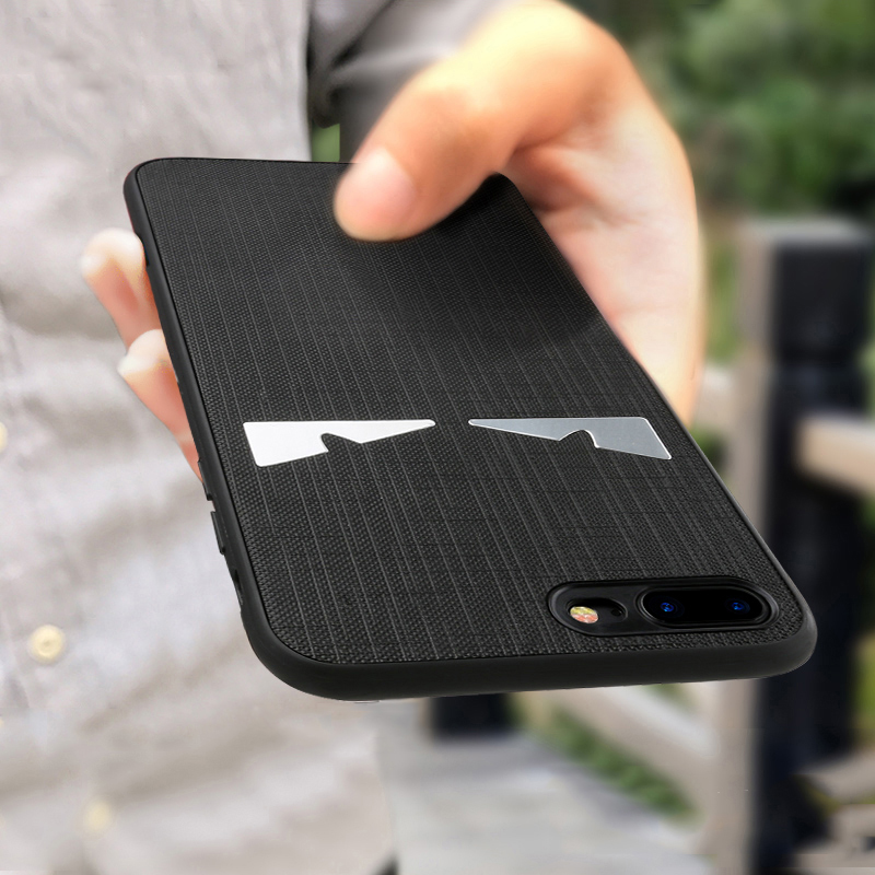 For iphone 7 plus case for iphone 7 case luxury glass hard back cover screen glass black white color for iphone 7 case silicone