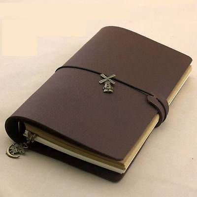 Blank Diaries Journals notebook note book loose leaf A5 genuine leather 0042517 blank diaries journals notebook note book genuine leather