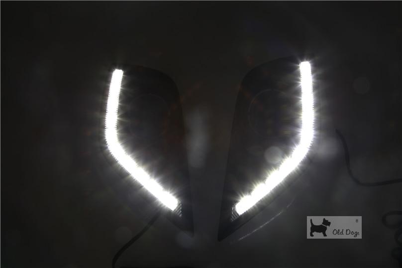 Car Fog Lamp for NISSAN SUNNY 2015//SUNNY 2014 ALMERA 2014 One set VERSA 2014
