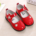Алмаз лук девушка's leather shoes, мода противоскользящие мягкое дно девочек принцесса кожаные shoes, дуг shoes, casual shoes