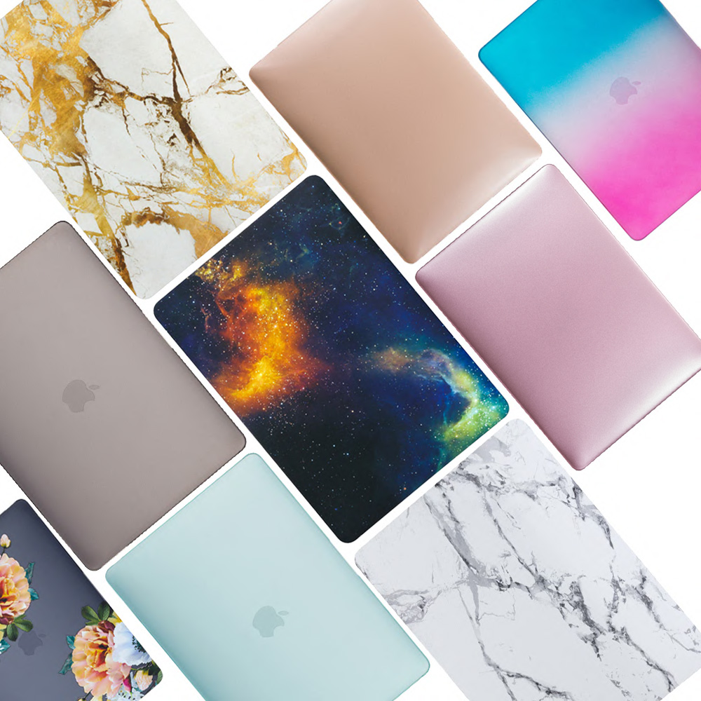 coque for macbook air 13 2018 pro 13 2017 2018 laptop case a1932 a1989 hard pc matte for macbook