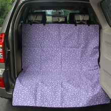 Pet Car Carriers Oxford Waterproof Dog Cat Trunk Mat Carrier Cover Blanket Protector