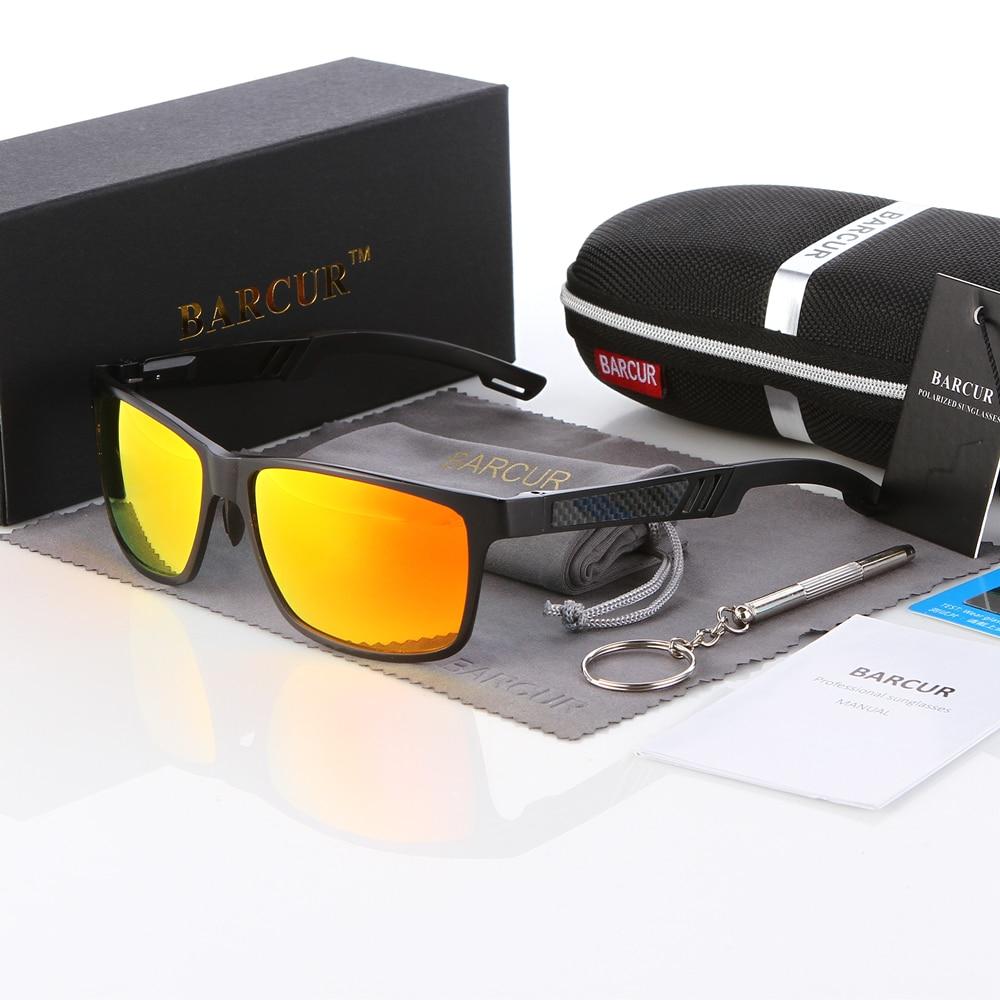 Visoka kakovost aluminija HD polarizirana sončna očala TAC moška polarizirana sončna očala Square očala očala Gafas oculos de sol masculino