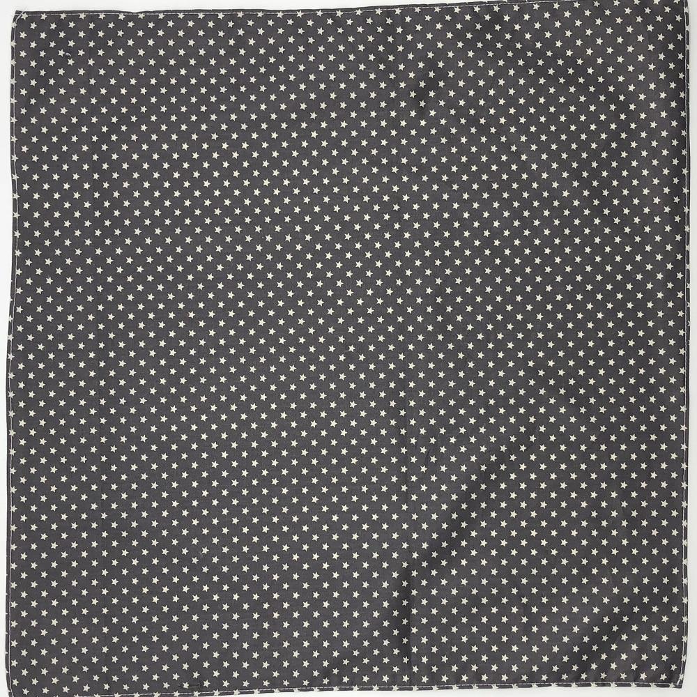 Classic Hanky Star Printed 47cm / Headkerchief Headbands Furoshiki Scarf Handkerchiefs Placemat So Many Uses / 100% Cotton