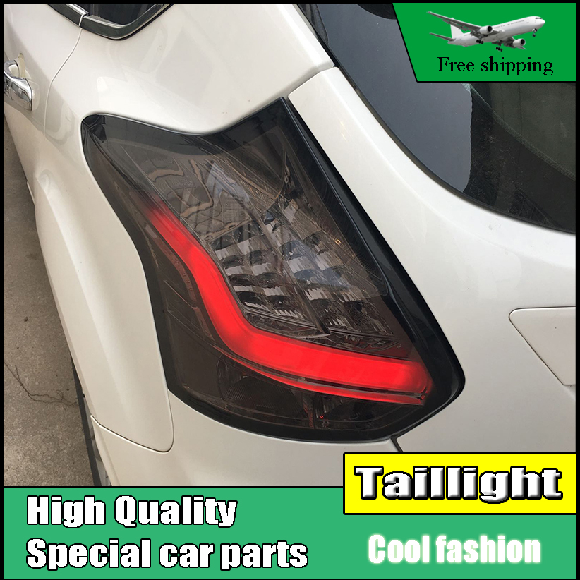 Car Styling Tail Light For Ford Focus Hatch-back Taillights 2012-2014 LED Tail Lamp Rear Lamp DRL+Brake+Park+Signal led light car styling tail light case for suzuki swift taillights 2005 2014 led tail lamp rear lamp drl brake park signal light