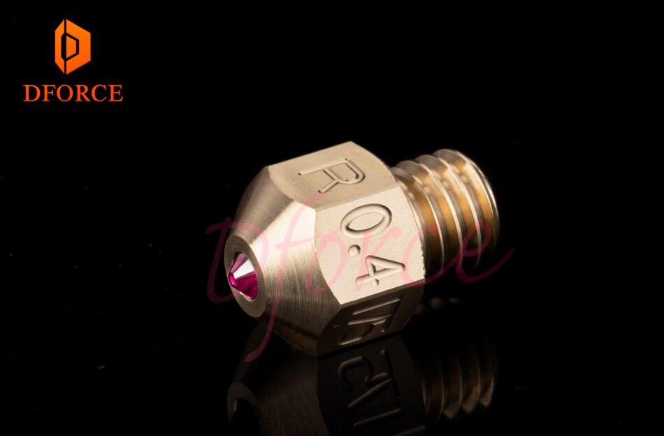 DFORCE MK8 rubi bico 1.75 MILÍMETROS Compatível