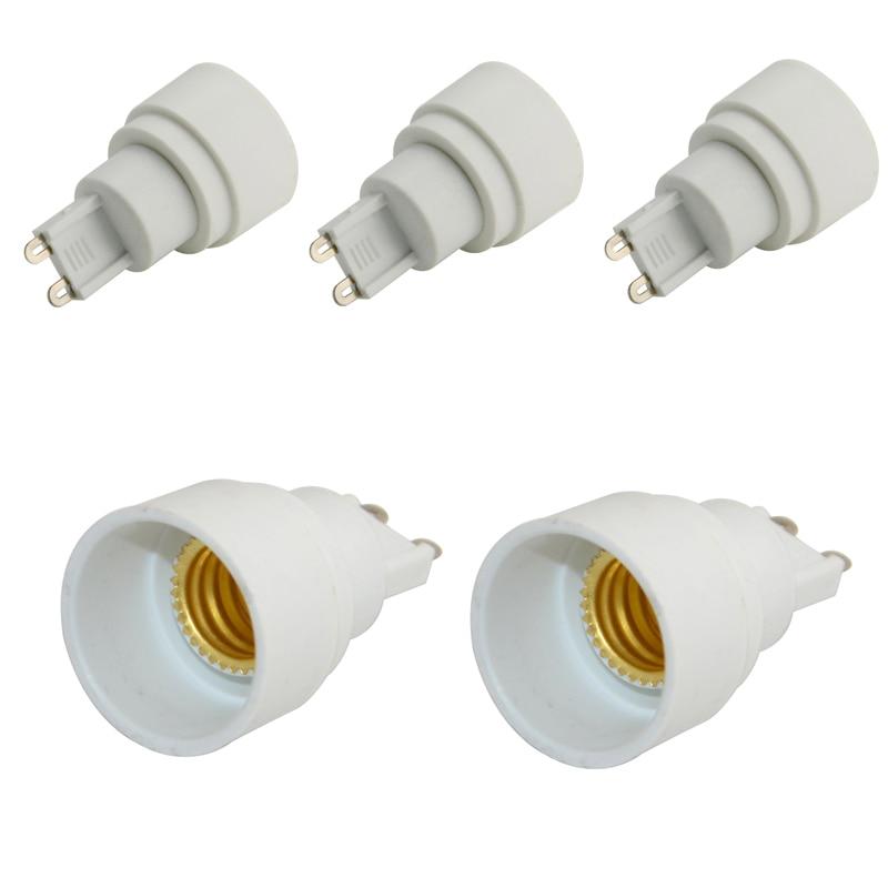 5pcs G9 To E14 ES Socket Base LED Light Lamp Bulbs Adapter Converter Change Holder #fashion