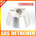 Force12000gs magnética lápis detacheur segurança detacheur Tag Remover EAS sistema de cor prateada