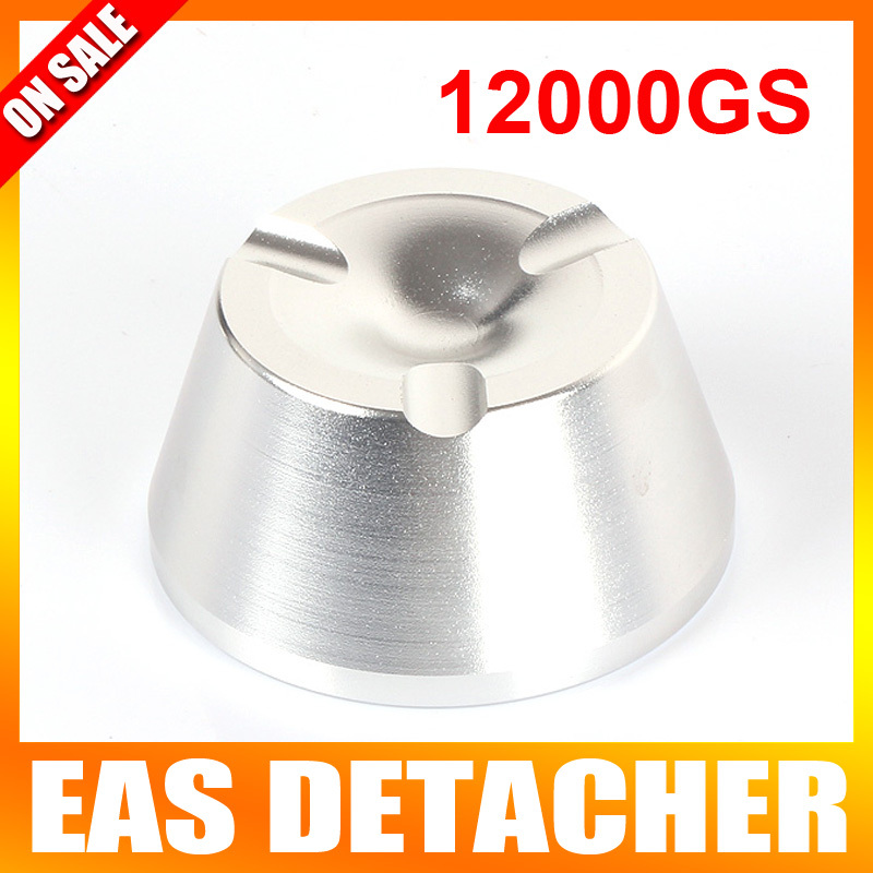 Pencil Detacher Magnetic Force12000GS Security Detacher Tag Remover EAS System Color Silvery 20000gs golf detacher security tag remover opener unlock eas tag detacher anti theft unlocking device strong magnetic force