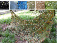 VILEAD 3M*4M Reusable Camouflage Netting Camo Net Outdoor Awning Sun Shelter for War Game Home Decor Yard Decor Window Shade