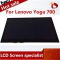 "Marca new Laptop Display Lcd Touch Screen Digitador Assembléia Para Lenovo Yoga 700 14 ""sem moldura"