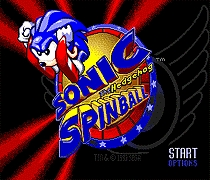 Sonic The Hedgehog Spinball 16 bit MD Game Card For Sega Mega Drive For Genesis