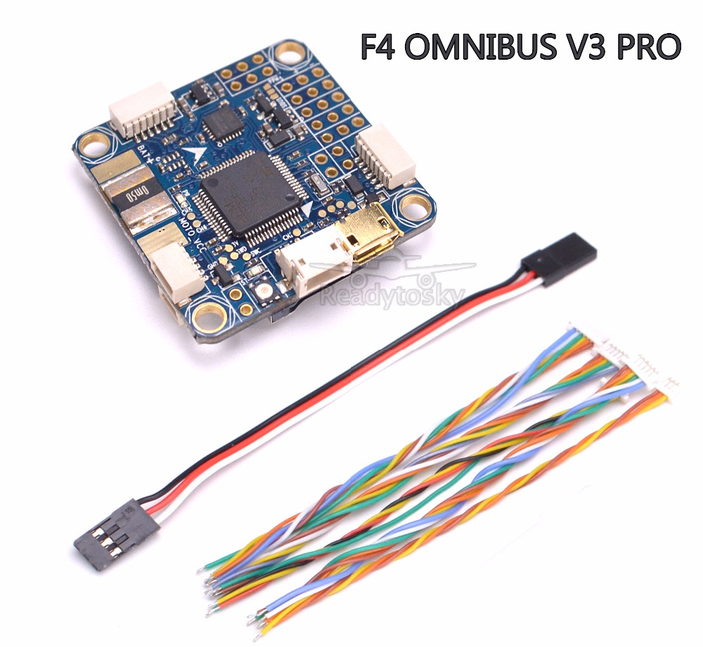 FLIP 32 F4 OMNIBUS V3 PRO Flight Controller Board w/ Sensing + Baro built-in OSD  has an 128Mb Flash For FPV Racing Drone betaflight omnibus f4 flight controller built in osd power supply module bec for fpv quadcopter drone accessories fpv aerial pho