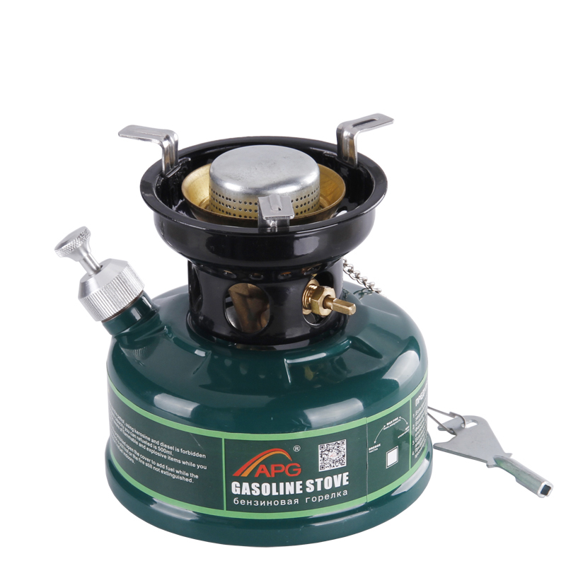 Camping Gasoline Stove Non Preheating No Noise Oil Furnace Picnic Burners Petrol Stove Cookware multifunctional portable outdoor camping petrol stove burners 1000ml gasoline picnic gas stove cooking stove wholesale