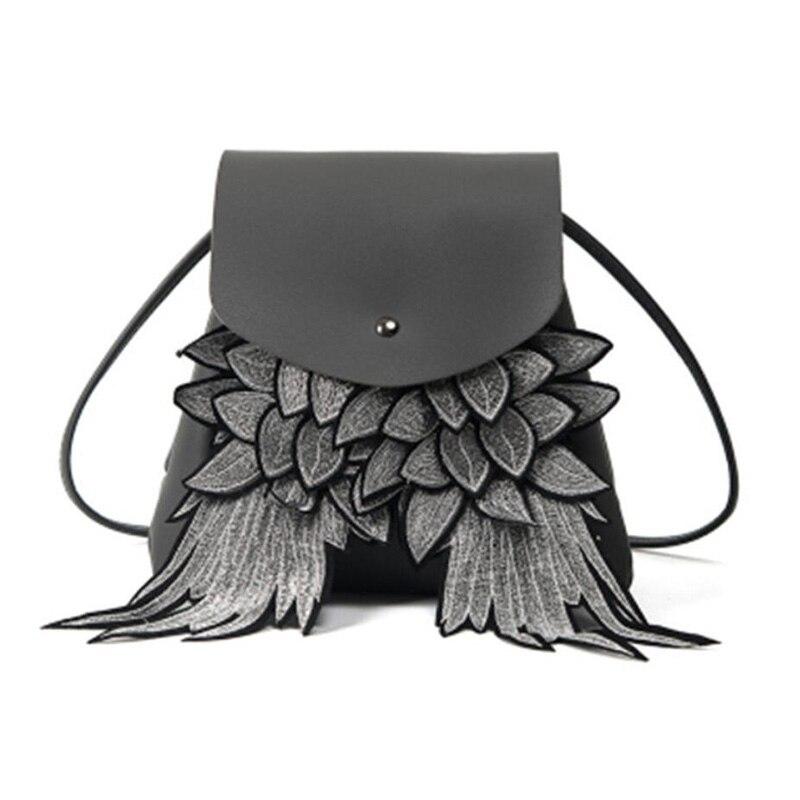 Cool Punk Devil Wings Backpack 1