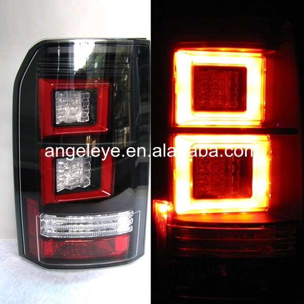 2004-2013 year For Land Rover for Discovery LED Tail Lamp back light  Dark Red for land rover discovery 4 lr4 accessories abs dark wood grain center console ac outlet cover trim sticker for lhd 2pcs set
