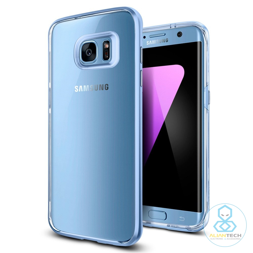 bilder für Aliantech Kristall Hybrid Fall für Galaxy S7 Rand Flexible Innere Gehäuse und Harte Rahmen für Samsung Galaxy S7 Rand