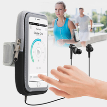 Brazalete para iPhone X 5S 6 7 8 plus 6 S Plus xs max funda deportiva para teléfono bolsa de teléfono móvil banda para el brazo de la bolsa