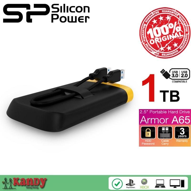 Silicon Power A65 1TB USB 3 0 external hard drive hdd 2 5 hd disco duro