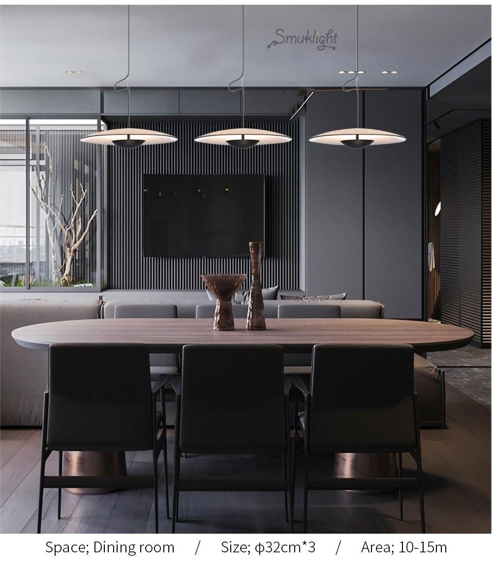 美式简约北欧现代艺术风格意大利设计师客厅餐厅床头吧台卧室吊灯_06