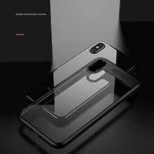 Protective Acrylic Hard Slim Back Cover Case for iPhone