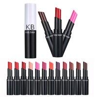 Fashion Summer Women Lipstick Long Lasting Beauty Matte Tint Lips Makeup Cosmetics Lipgloss Make up YF2017