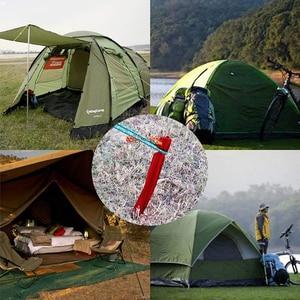Image 5 - 10 stks/partij 25 cm Aluminiumlegering Spiraal Haringen Tuin Stakes Grond Nail Zware Hangmat Camping Voor Guyline Luifel luifel