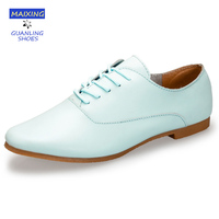 Women Genuine Leather Shoes Hand Made Full Grain Leather Laides Casual Shoes Sapatos Femininos Sapatilha Flat