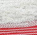 32ft 10 М 2 х 3 мм Посеребренной Латуни Круглый Кабель Звено Цепи Ювелирных Нахождения Высочайшее Качество Моды DIY аксессуары Изготовление Ювелирных Изделий