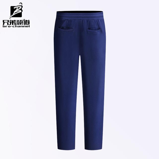 Otoño nuevos hombres casuales pantalones pantalones de punto pantalones Deportivos pantalones Metodistas Coreanos de movimiento lineal