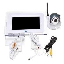 2.4G Wireless Digital 7″ LCD Baby Monitor Camera Audio Talk Video Night Vision Security Camera