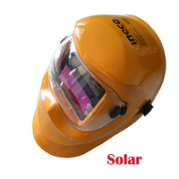 CE Quality LCD Filter Glass Lens welding masks auto Darkening solar li batter Arc tig mig welding helmet masks