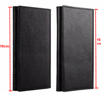 Genuine Wallet Leather Mobile Phone Case For IPhone 7 Plus Oneplus 5 5t Oppo F5 F5