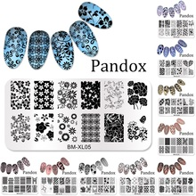 2016 New Series BM Nail Stamping Plates DIY Image Konad Nail Art Manicure Templates Stencils Salon Beauty Polish Tools