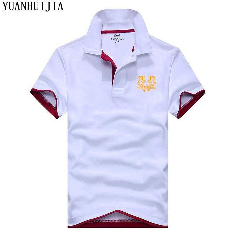 2018 Der Art Und Weise Männer Jordan 23 Männer Polo Shirt Mode Marke Druck Männer Polo Sommer Revers Business Männer Casual Polo Shir