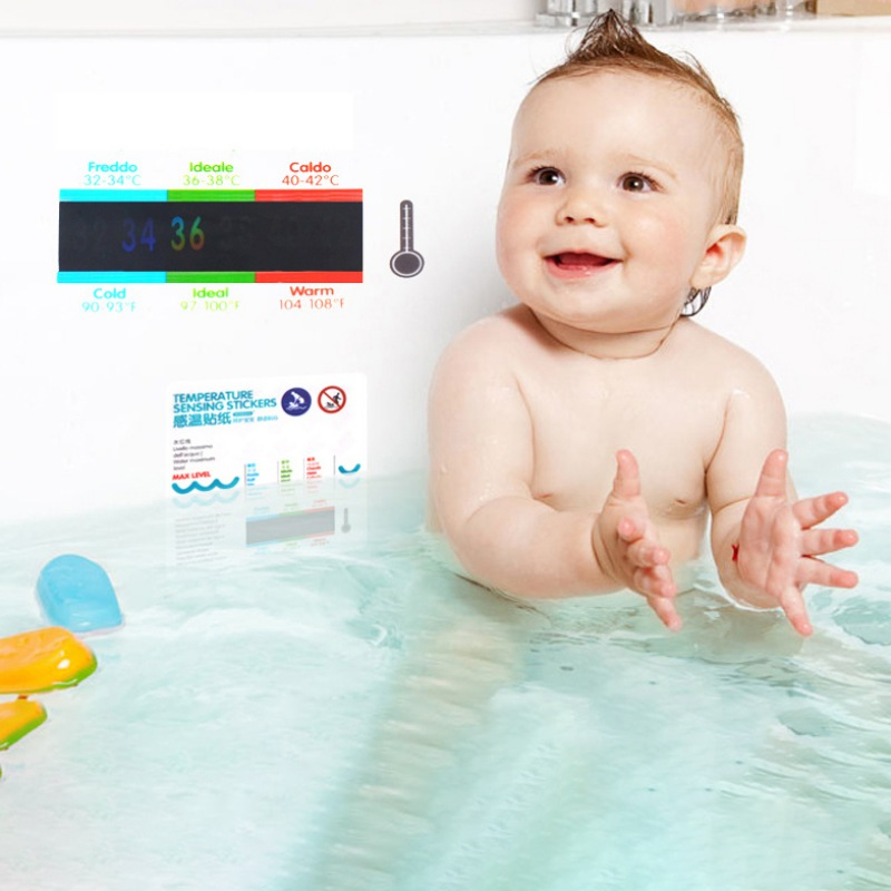 Infant Bath Tub With Thermometer